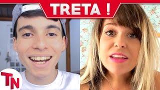 Youtuber leva SOCO NA CARA de hater, Autor da vaia a Marcela Tavares aparece
