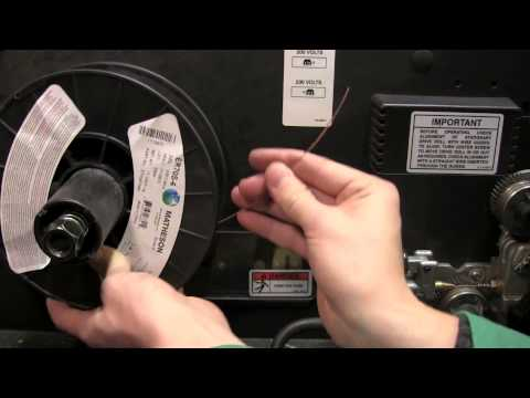 How to Change the Wire on a MIG Welder