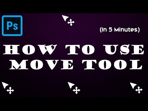 how to use move tool in Photoshop | Photoshop tutorial for beginners 2019 thumbnail