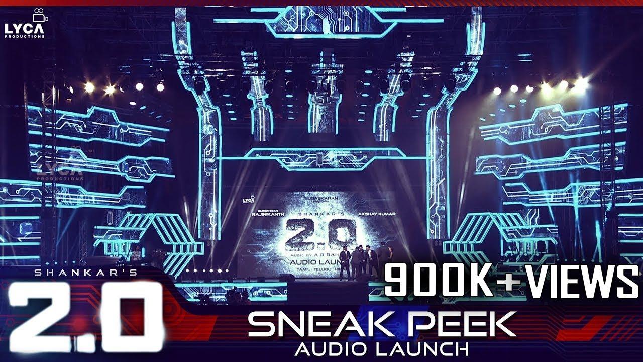 2.0 Audio Launch - Sneak Peek | Rajinikanth, Akshay Kumar | Shankar ...