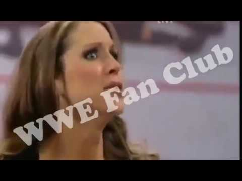 Download Randy Orton Kisses Stephanie Mcmahon After Attacking Triple H