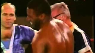 Майк Тайсон   Майкл Джонсон Mike Tyson vs Michael Johnson бой 8