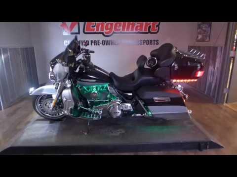2012 Harley Davidson Electra Glide Ultra Limited, Black & Silver w/LED kit