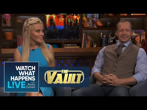 Sparks Fly Between Jenny McCarthy And Donnie Wahlberg On WWHL  FBF  WWHL