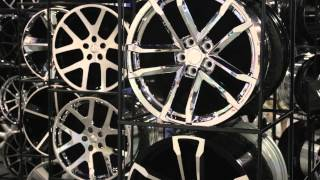 SEMA 2013 - Replica Wheels in all sizes colors and finishes from Factory Reproductions