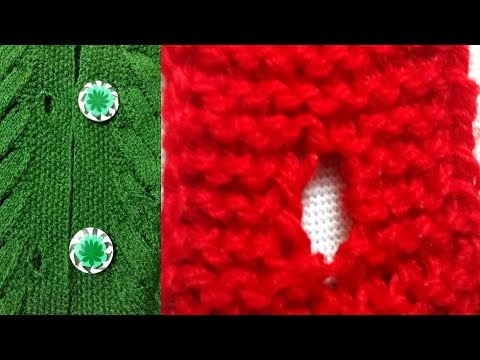 How to Make A Button hole For Fancy Big Button (Part-1)  Satrangi