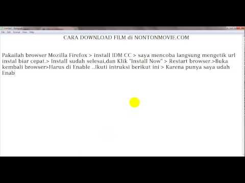 Cara Mendownload Film di NontonMovie.com