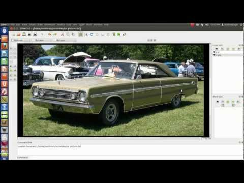 Tracing a picture with LibreCad Pt 1