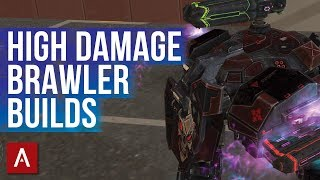 War Robots Gameplay - LANCELOT | BEST HIGH DAMAGE BRAWLER SETUPS