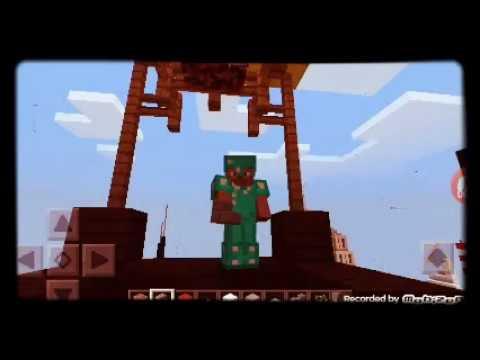 Jugando minecraft por 2gunda vez