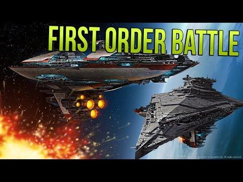FIRST ORDER FLEET vs OLD REPUBLIC! - STAR WARS Empire at War