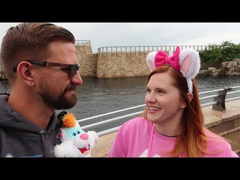 We Went Tokyo Disney Sea! | Giant Volcano, Trip Planning FAIL & Super Cute Character Interactions!