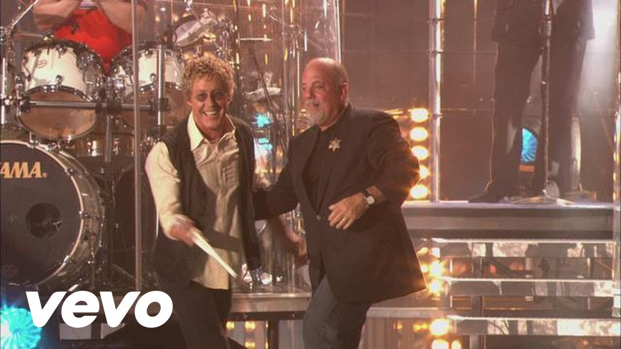 Billy Joel My Generation From Live At Shea Stadium Ft Roger Daltrey Youtube