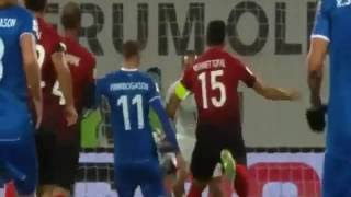 -İzlanda Türkiye  2-0 Geniş Özet ve Goller 2018 Dünya Kupası Elemeleri -