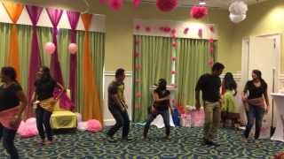 Surprise dance for Baby shower
