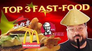 *TOP 3* FAST FOOD PIÙ BUONI in CINA - Mocho Knows Best - MochoHF