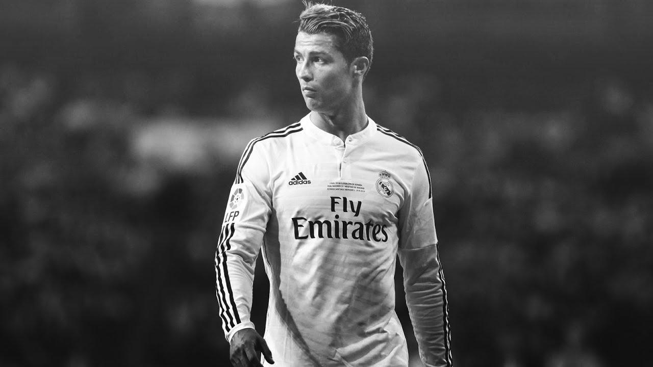 Cristiano Ronaldo Black And White Shoes