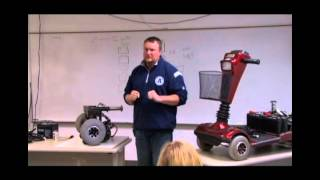 Power wheelchair & scooter maintenance & how to evaluate individuals for wheelchairs