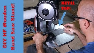 Harbor Freight Portable Band Saw Stand