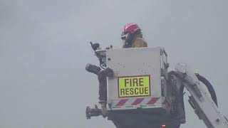 6th Alarm Fire SkyCity International Convention Center Auckland 22nd October