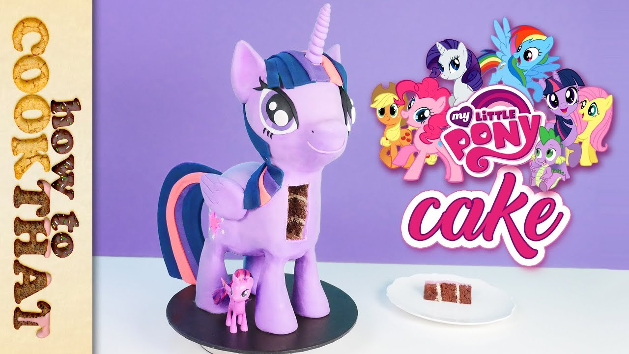 My Little Pony Princess Twilight Sparkle 3D Cake How To Cook That