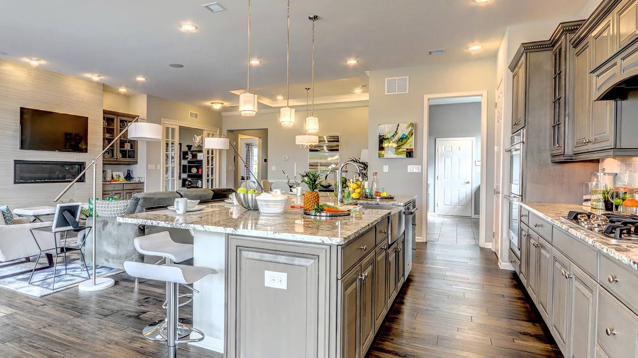 K Hovnanian Homes Dream Kitchen Youtube