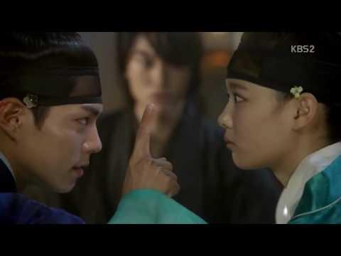 쀼아 구그달 박보검 개한테 물림ㅋKBS구르미그린달빛