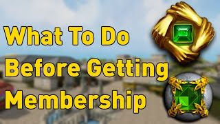 10 Things To Do Before Buying RuneScape Membership