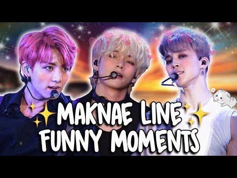 BTS MAKNAE LINE FUNNY MOMENTS
