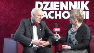 Korwin-Mikke w studio DZ [WIDEO: A. Pustułka, K. Gruszka]