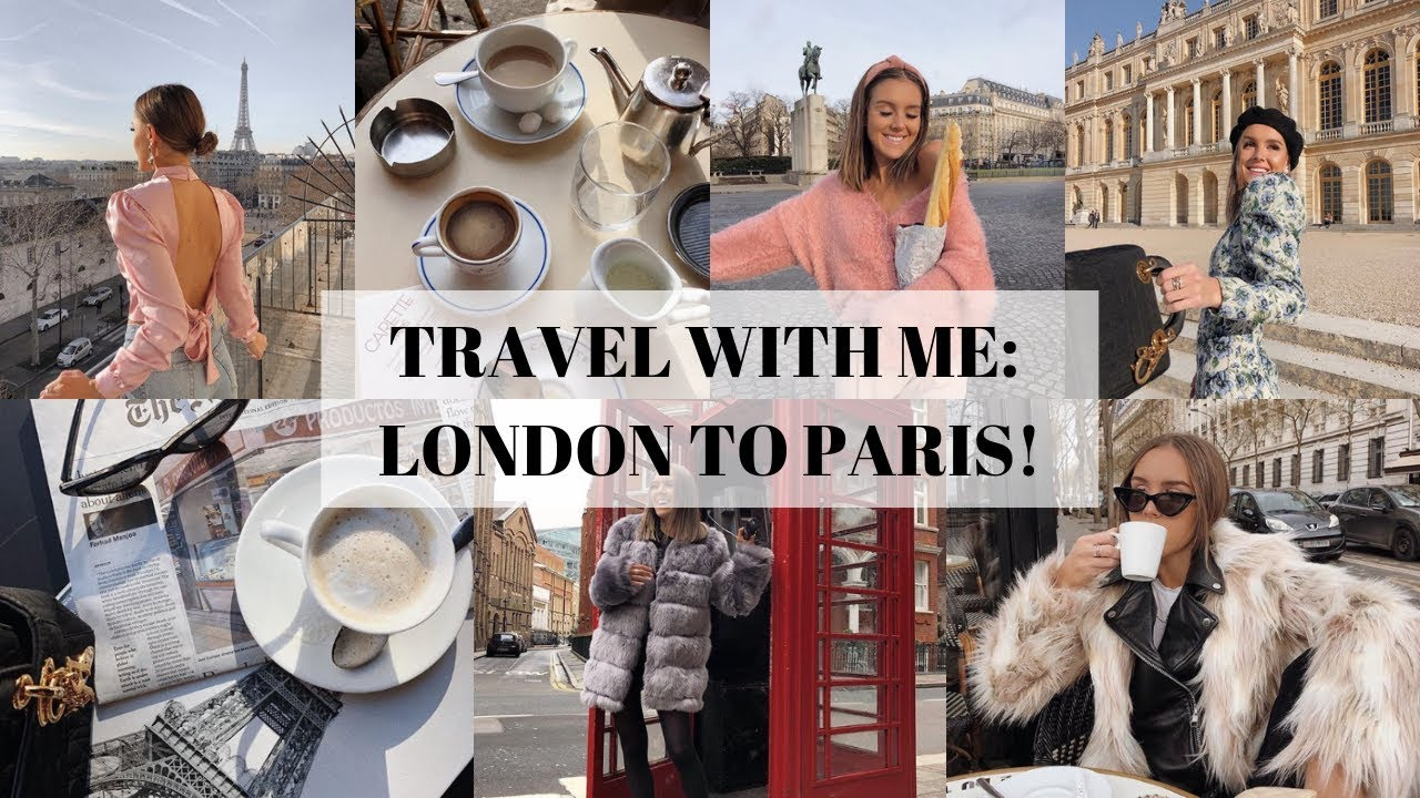 TRAVEL WITH ME: LONDON TO PARIS! | Emma Rose