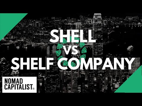 Difference Between A Shelf Company And A Shell Company
