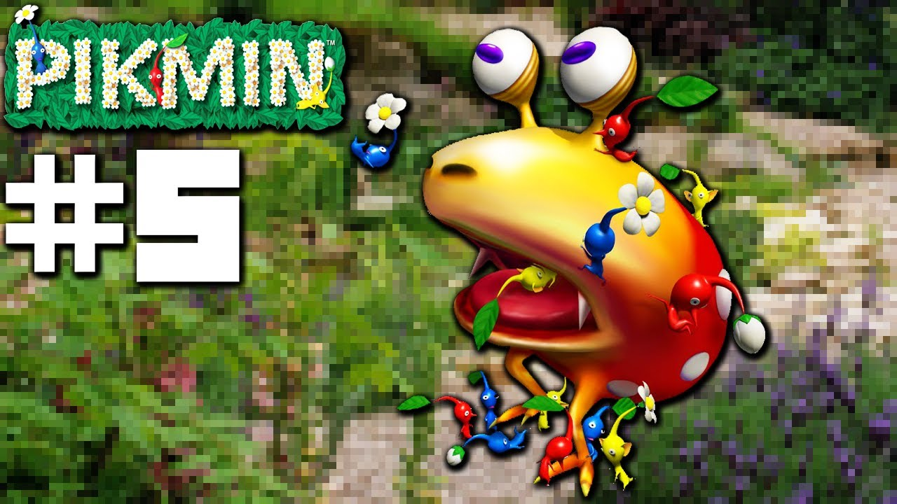 Pikmin Beetles Bridges Part 5 Nintendo Gamecube Gameplay Walkthrough Youtube