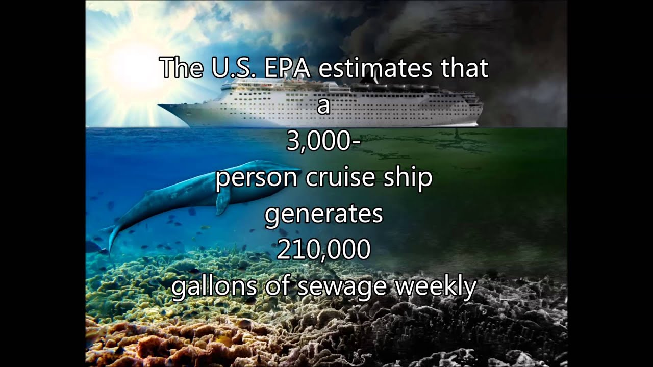 Cruise Ship Pollution PSA - YouTube
