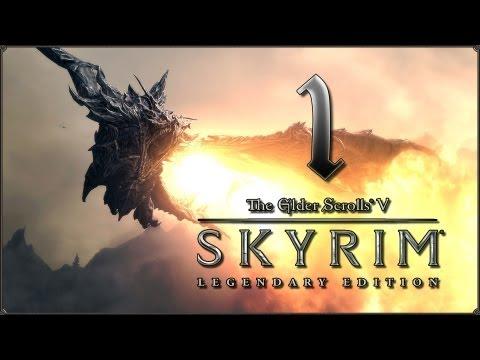 Прохождение TES V: Skyrim - Legendary Edition — #1: JoRad