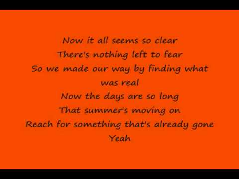 Daughtry - September (Lyrics)