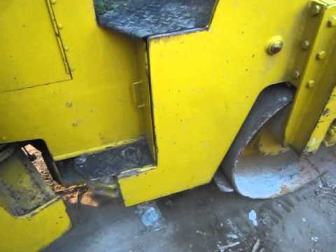 รถบดหน้าเหล็กหลังยาง BOMAG: BW123 AC มือสองเก่านอกแท้ ใช้งานได้ดี