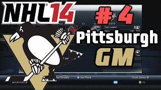 "NHL 14: GM Mode Commentary - Pittsburgh ep. 4 ""Crazy Trade Deadline"""