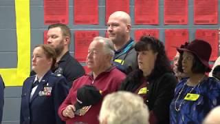 Veterans Day at Simpsonville Elementary 2018