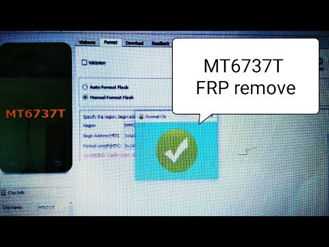 MTK CPU mt6737t frp unlock 100% success