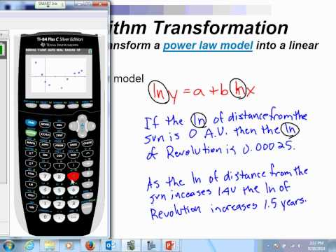 4 1b Video--Power Law Model