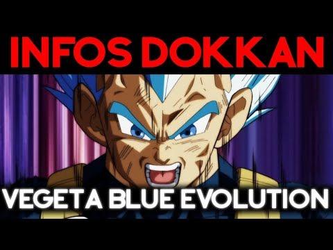 INFOS DOKKAN BATTLE : Vegeta Blue Evolution arrive !