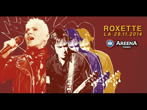 ROXETTE - She's Got Nothing On (But The Radio) - Live in Turku, Finland 29.11.2014