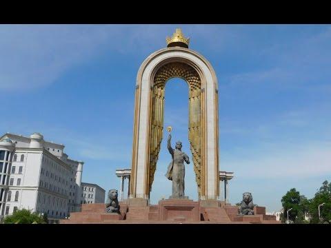 [Tajikistan] Statue of Ismoil Somoni | Памятник Исмоили Сомонӣ | 이스모일 소모니 동상 @ Dushanbe | Душанбе