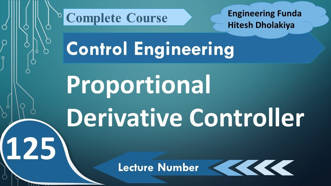 Proportional Derivative Controller, PD Controller in Control Engineering by  Engineering Funda