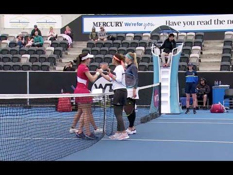 Mirza/Kichenok Vs. King/Mchale | 2020 Hobart Doubles Quarterfinal | WTA Highlights