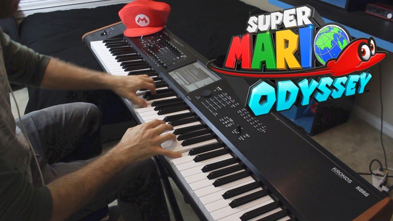 Super Mario Odyssey - Trailer Theme for Solo Piano