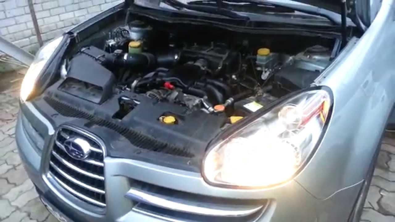 Стучит двигатель Subaru Tribeca