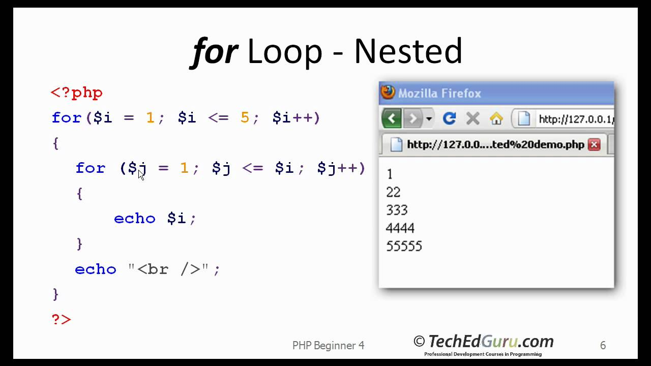 php while loop example phpsourcecodenet