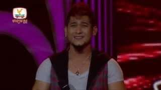 The Voice Cambodia - សុភា សំណាង - បេះដូងទ័លច្រក - 24 Aug 2014